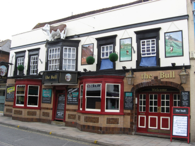 THE BULL, COLCHESTER